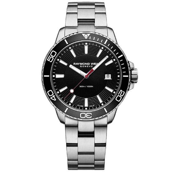 Raymond Weil Tango Diver Quartz Watch, 42mm