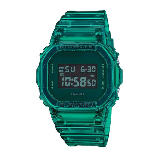 G-Shock 90's Green Skeleton Watch