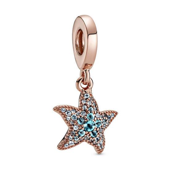 Pandora Sparkling Starfish Crystal Dangle Charm