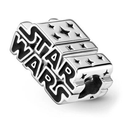 Pandora Star Wars Silver 3D Logo Enamel Charm