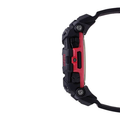 G-Shock G-Squad Black Strap Bluetooth Watch, 58.2mm
