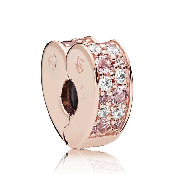 Pandora Rose™ Arcs of Love Crystals & CZ Clip