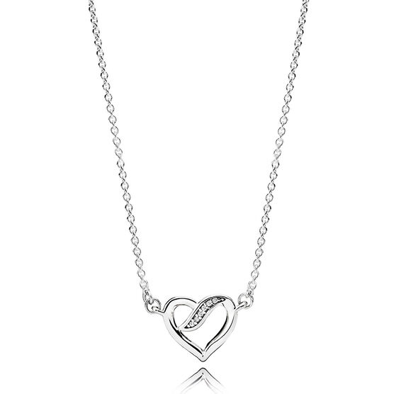 PANDORA Dreams of Love CZ Necklace
