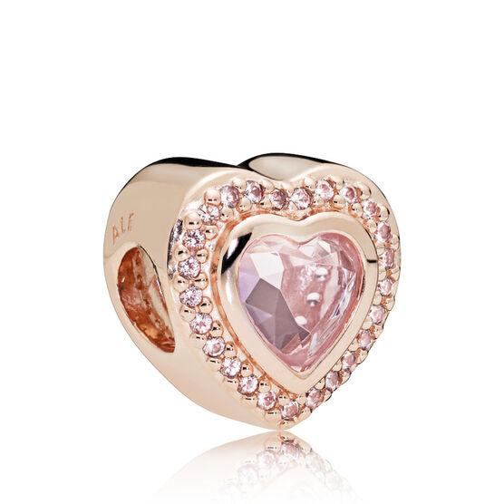 Pandora Rose™ Sparkling Love Pink Crystal Charm