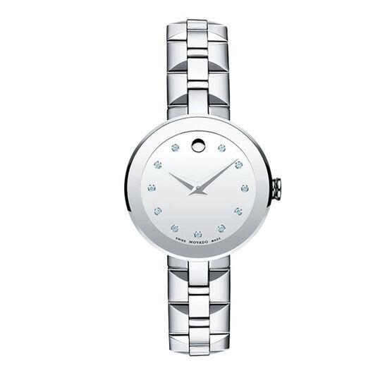 Movado Women's Sapphire Watch with Diamonds