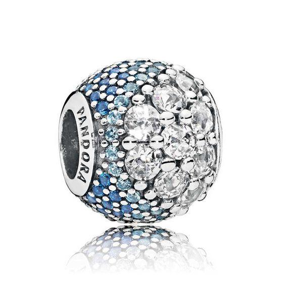 Pandora Blue Enchanted Cz Pav 233 Charm 797032nabmx Ben