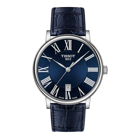 Tissot Carson Premium Blue Strap Watch, 40mm