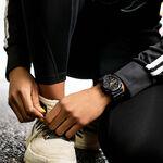 G-Shock Black Resin Golden Detailed Watch, 49mm