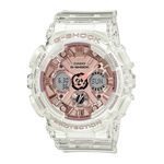 G-Shock S-Series Rose Dial Transparent Watch, 49mm