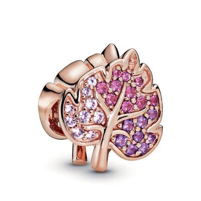 Pandora Rose™ Pandora Wonderland Sparkling Pavé Crystal Leaf Charm