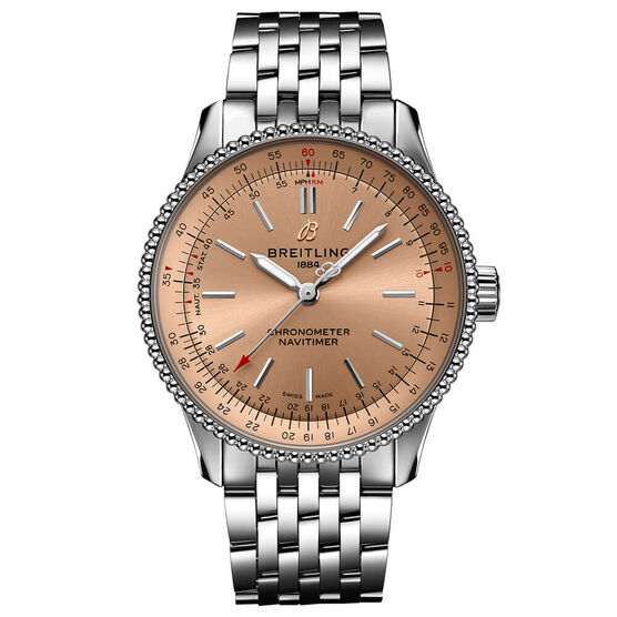 Breitling Navitimer Automatic 35 Copper Steel Watch, 35mm