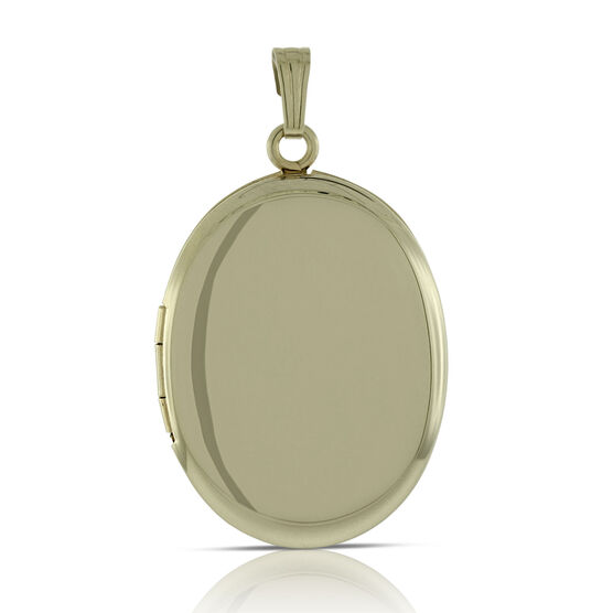 Oval Locket  14K