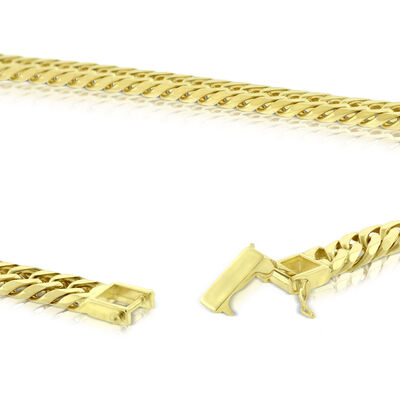 Curb Chain Necklace 14K, 24""
