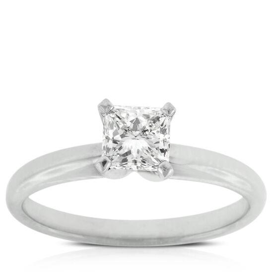 Ikuma Canadian Diamond Princess Cut Ring 14K, 3/4 ct.