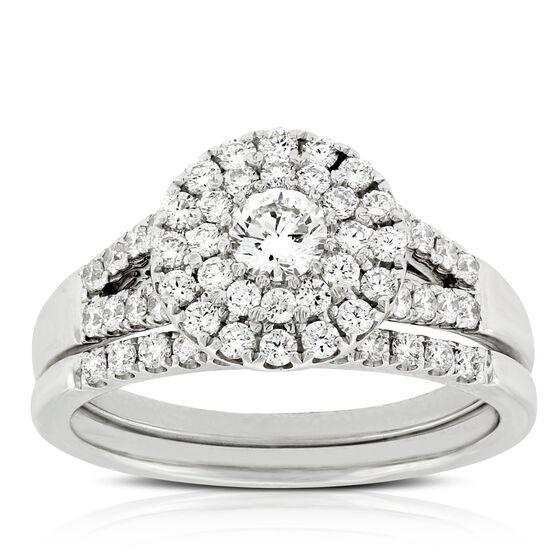 Diamond Bridal Set 14K