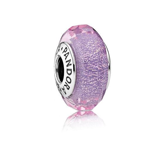 PANDORA Purple Shimmer Charm