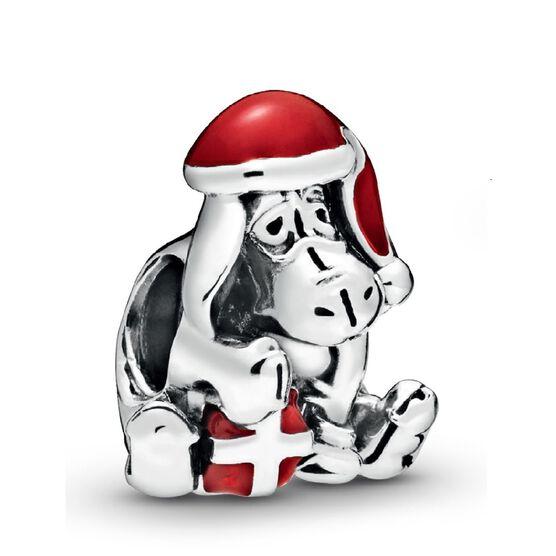 Pandora Disney Eeyore Christmas Enamel Charm