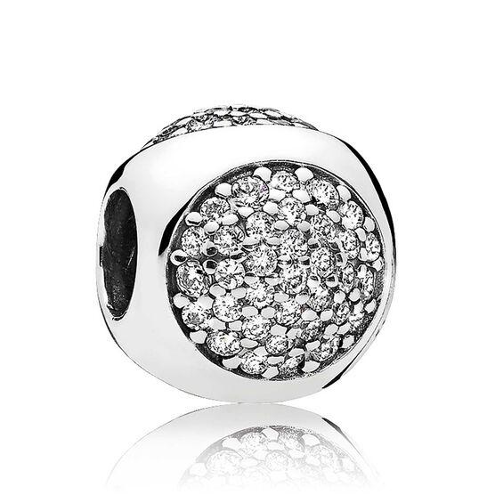 PANDORA CZ Dazzling Droplet Charm