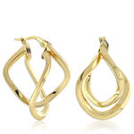 Toscano Twisted Earrings 14K