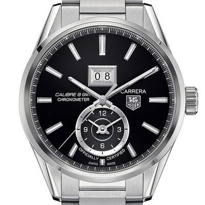TAG Heuer Carrera Calibre 8 GMT & Grande Date Watch