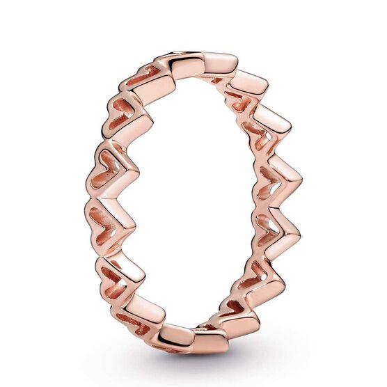 Pandora Rose™ Freehand Hearts Ring
