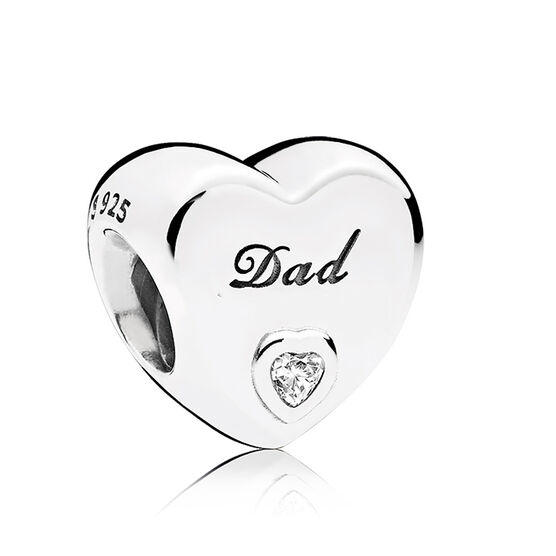 Pandora Dad's Love CZ Charm