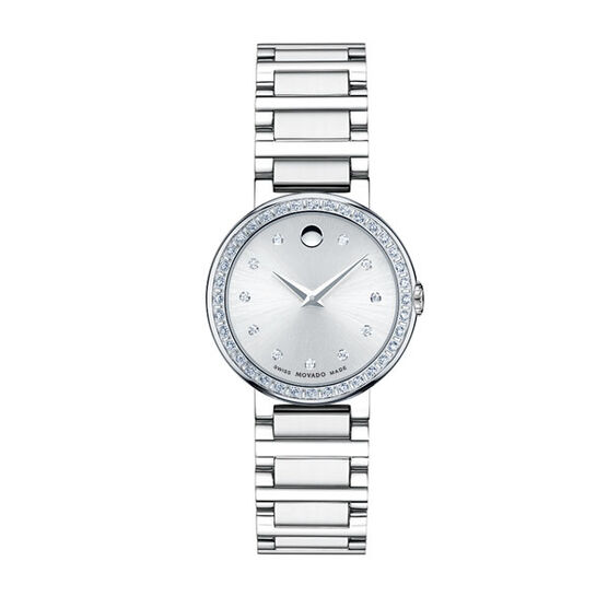 Movado Women's Diamond Bezel Concerto Watch
