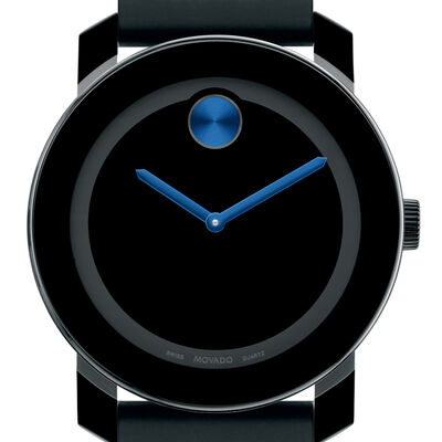 Movado Bold Blue Detailed Watch