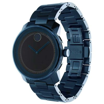 Movado Bold Ink Blue Ion Watch