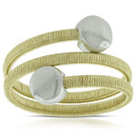 Toscano Spiral Ring 14K, Size 7