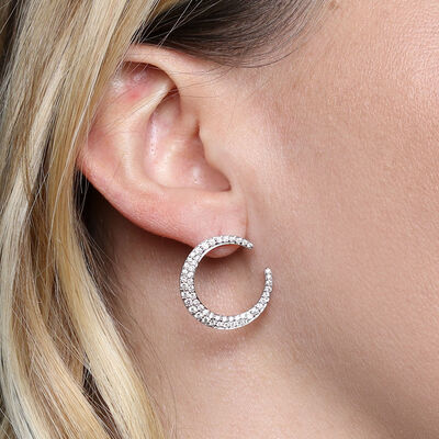 HOPECIRCLE Diamond Earrings 14K, .96ctw.