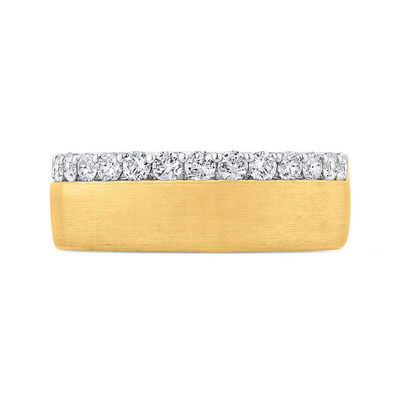 Bella Ponte Gents Diamond Band 14K