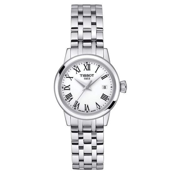 Tissot Classic Dream Lady White Dial Steel Quartz Watch, 28mm