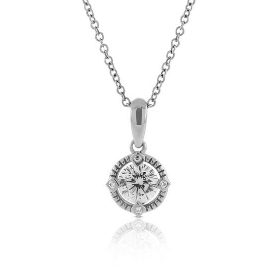 Signature Forevermark Diamond Pendant 18K