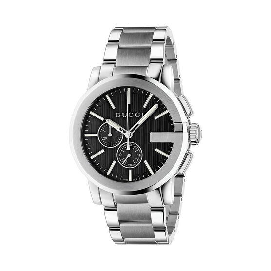 Gucci G-CHRONO Black Dial Watch