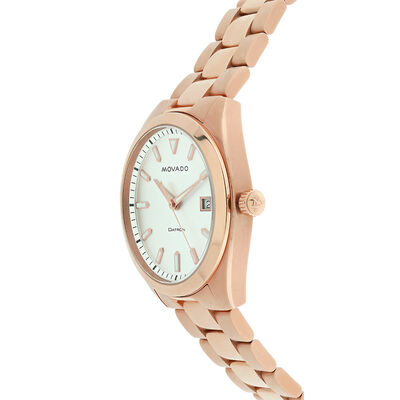 Pre-Owned Movado Daytron Rose Watch, 39mm