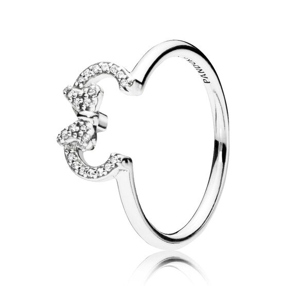 PANDORA Disney, Minnie Silhouette CZ Ring