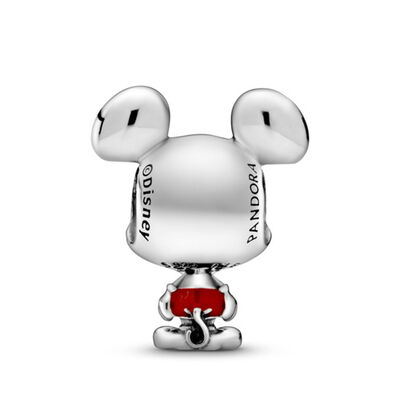 Pandora Disney Mickey Mouse Red Trousers Enamel Charm