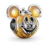 Pandora Disney Mickey Mouse Pumpkin Enamel  Charm