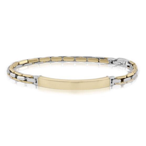 "Toscano ID Bracelet 14K, 8"""
