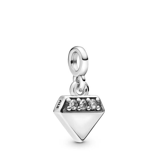 Pandora Me My Bright 'Diamond' CZ Dangle Charm