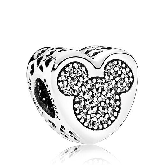Pandora Disney Mickey & Minnie True Love CZ Charm