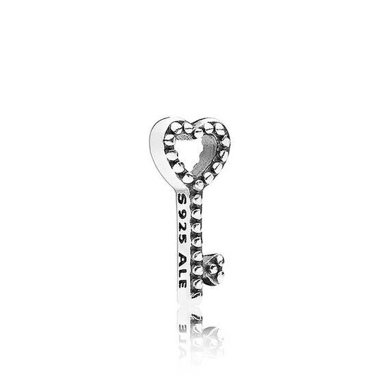 Pandora Heart Key Petite Locket Charm