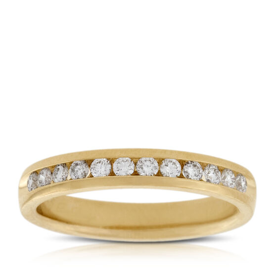 Diamond Band 14K, 1/3 ctw.