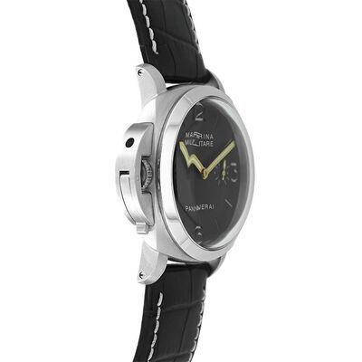 Pre-Owned Panerai Luminor Marina Militare Left-Handed Watch, 47mm
