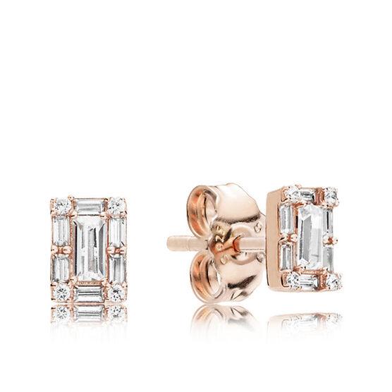 PANDORA Rose™ Luminous Ice CZ Stud Earrings