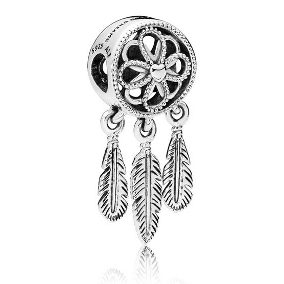 PANDORA Spiritual Dream Catcher Dangle Charm