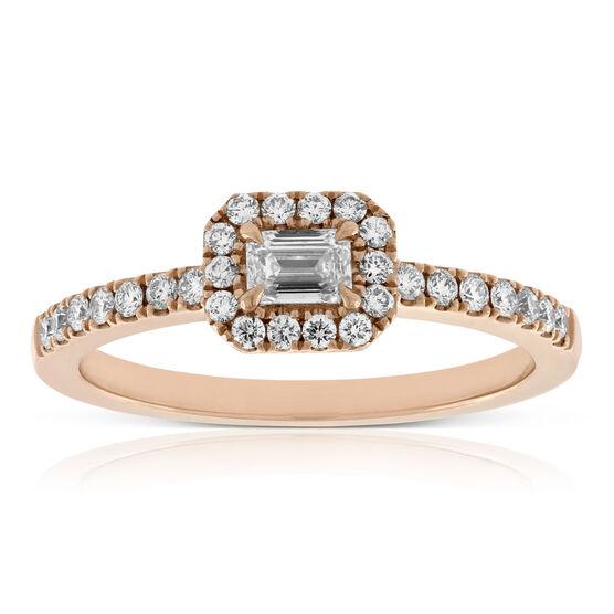 Forevermark Rose Gold Diamond Ring 18K