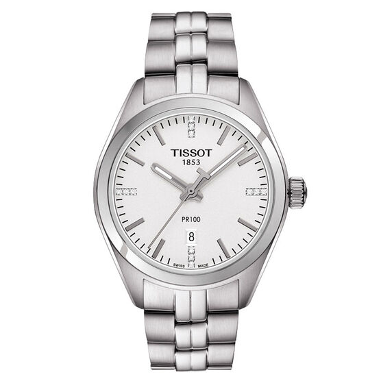 Tissot PR 100 Lady's T-Classic Quartz Watch, 33mm