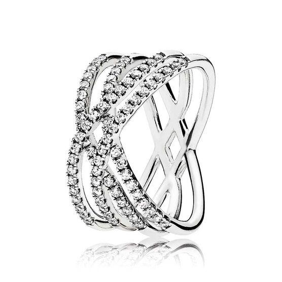 Pandora Cosmic Lines CZ Ring